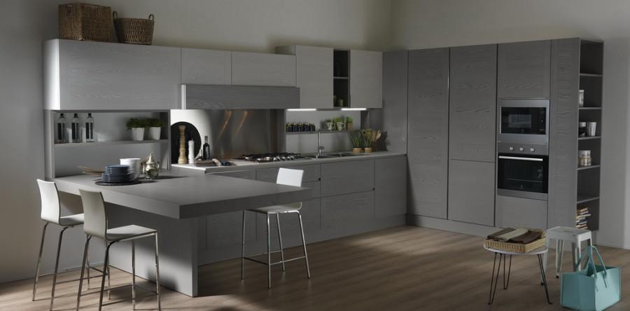 il legno in una cucina moderna uno spazio abitato dalla bellezza sospeso fra funzionalit e