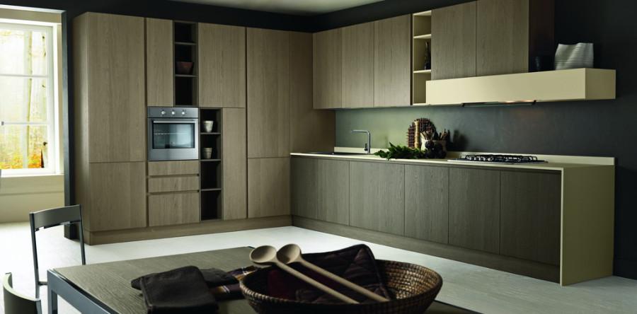 cucina in legno di rovere di quercia una sensazione di solidit e funzionalit in grado di cambiare la percezione