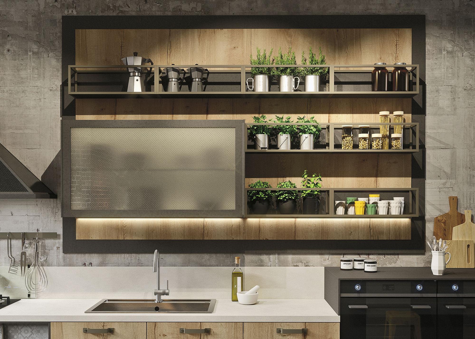 loft - cucina snaidero - centro cucine oltrepo - Cucine Loft