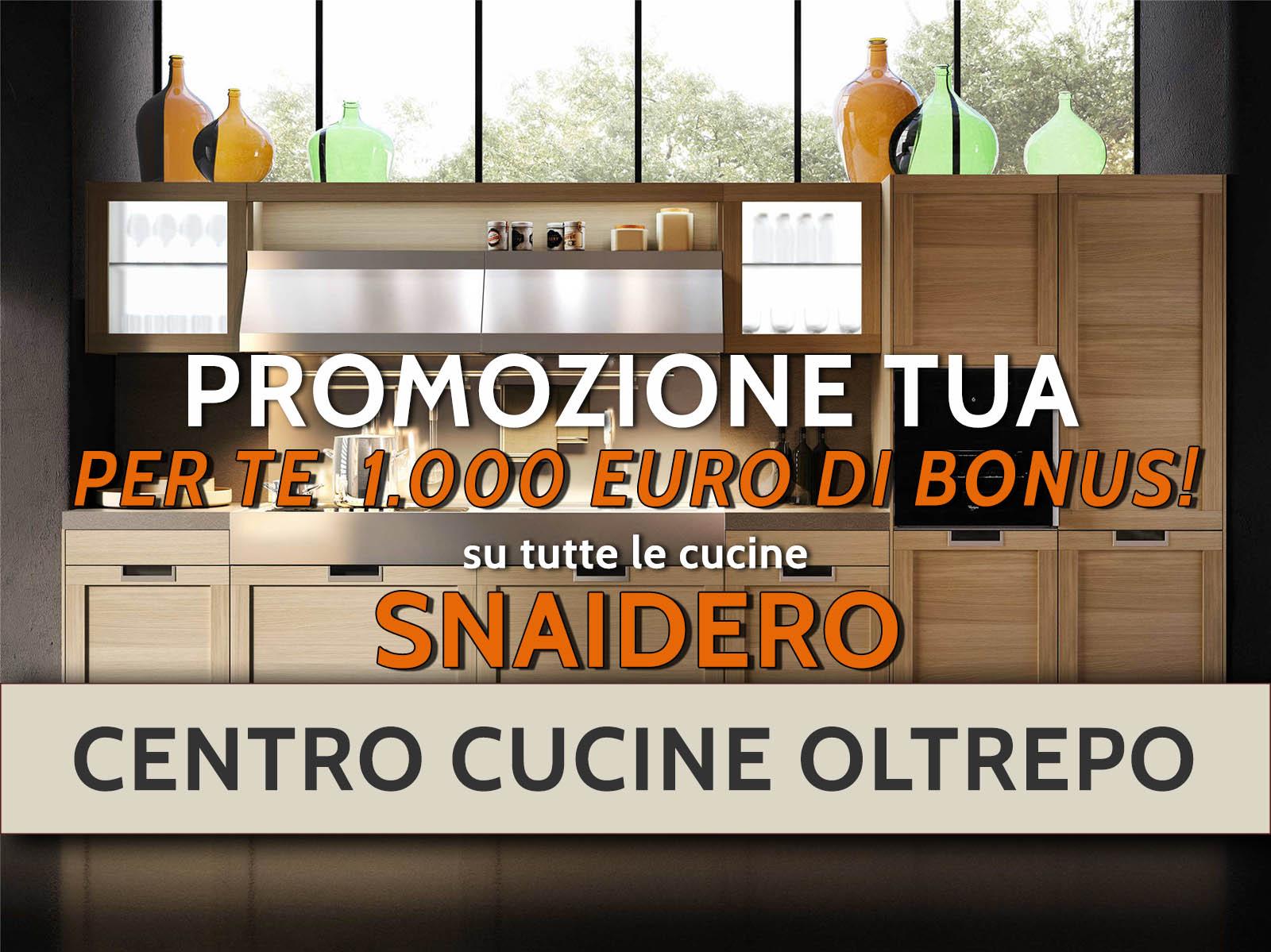 Promozione snaidero centro cucine oltrepo centro cucine - Cucine a 1000 euro ...