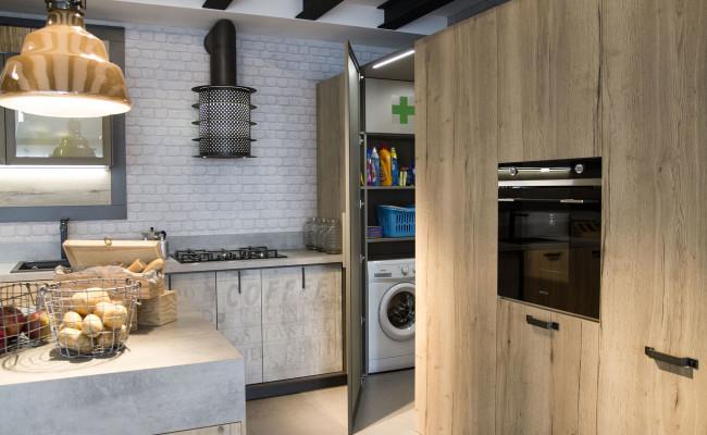cucina-Loft-nobilitato-rovere-canyon-4